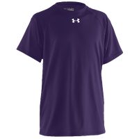 Under Armour Team Locker S/S Shirt - Boys' Grade School - Purple / Purple