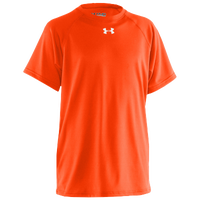 Under Armour Team Locker S/S Shirt - Boys' Grade School - Orange / Orange