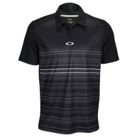 Oakley High Crest Golf Polo 2.0 - Men's - Black / White