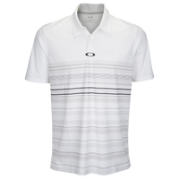 Oakley High Crest Golf Polo 2.0 - Men's - White / Grey