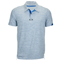 Oakley Gravity Golf Polo 2.0 - Men's - Light Blue / Blue
