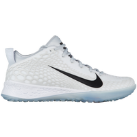 Nike Force Zoom Trout 5 Turf - Men's - White / Grey