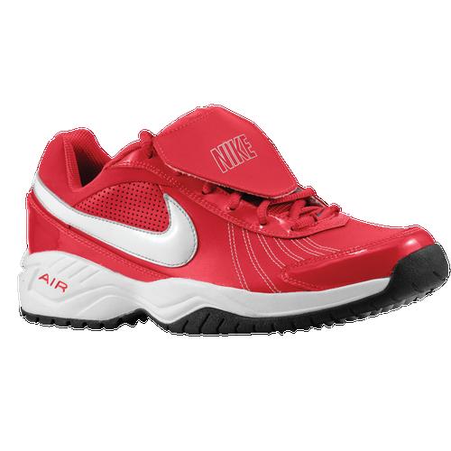 promo code 86f62 f2ba8 Nike Air Diamond Trainer Mens Baseball Shoes Pro Red White
