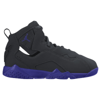 womens air jordan true flight black purple