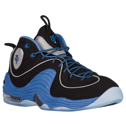 Nike Air Penny II - Men's - Basketball - Shoes - Black/Varsity Blue/Metallic  Silver/Varsity Blue