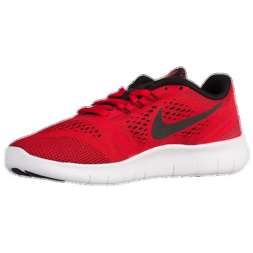 e445154e99157 ... low price nike free rn boys grade school running shoes university red  black white fd008 89e42
