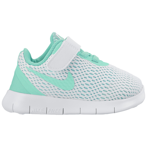 newest 97e0e af96c Nike Free RN - Girls  Toddler - Running - Shoes - White Hyper Turquoise