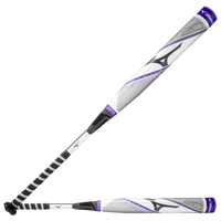 Mizuno Pwr Crbn Fastpitch Bat - Women's - White / Purple