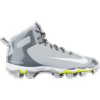 Nike Alpha Huarache Keystone - D - Medium Baseball Shoes - Wolf Grey/White/Cool Grey 59388KVP