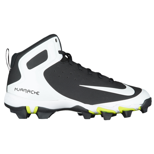 Nike Alpha Huarache Keystone Mid MCS - Boys' Grade School - Baseball -  Shoes - Black/White/White