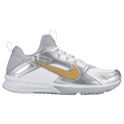 a629809119ee coupon for nike alpha huarache turf mens baseball shoes white metallic gold  white wolf grey 189d4