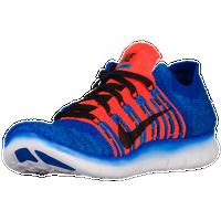 Garçons Nike Runs Libres Noir Et Orange