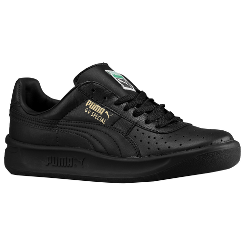 36cf73d8ad7 PUMA GV Special Boys Grade School Tennis Shoes Black Black Metallic Gold