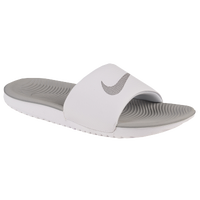 Nike Kawa Slide - Women's - White / Grey