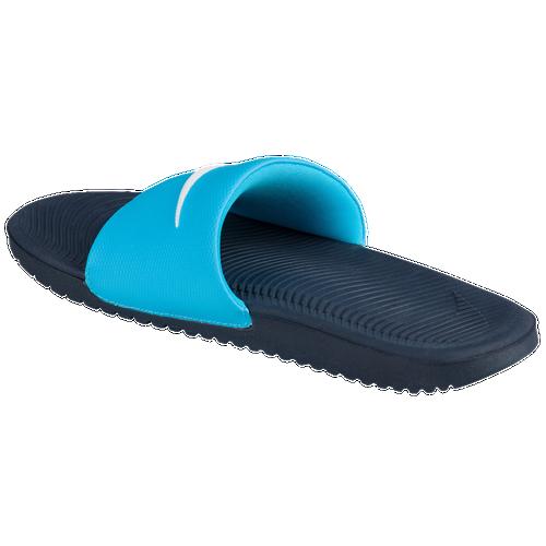 Nike Kawa Slide - Women's - Casual - Shoes - Chlorine Blue ...