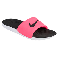 2b1a3a3b6178 ... ireland nike kawa slide womens casual shoes black vivid pink 25a0f 0c051
