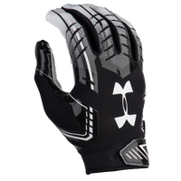 Under Armour F6 Football Gloves - Men's - Black / White