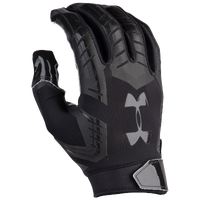 Under Armour F6 Football Gloves - Men's - All Black / Black