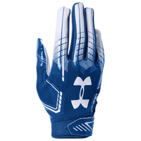 Under Armour F6 Receiver Gloves - Grade School - Blue / White