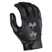 Under Armour Spotlight Football Gloves - Men's - All Black / Black