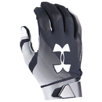 Under Armour Spotlight Football Gloves - Men's - Black / White