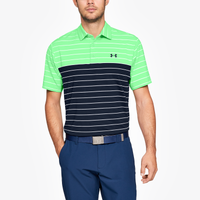 Under Armour Playoff Golf Polo - Men's - Light Green / Navy