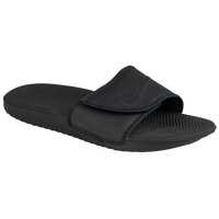 Nike Kawa Adjust Slide - Men's - All Black / Black