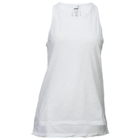 ASICS® Racerback Tank - Women's - All White / White