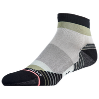 Stance Carb Run Quarter - Women's - White / Grey