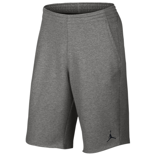 56c4fd21b2bacb Jordan City Knit Shorts Mens Basketball Clothing Dark Grey Heather Black