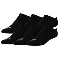 ASICS® Performance No Show 6 Pack Socks - Men's - Black