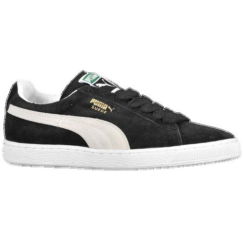 fb387f350e4569 PUMA Suede Classic Eco Mens Basketball Shoes Black White on PopScreen