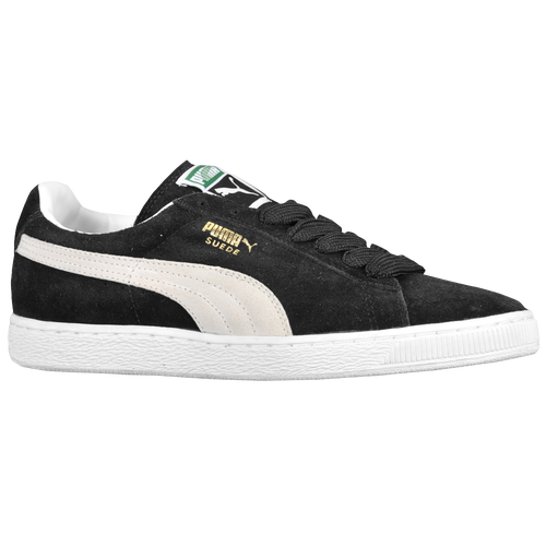 PUMA Suede Classic Eco Mens Basketball Shoes Black White on PopScreen c34cc4995