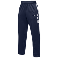 Nike Team Elite Stripe Pants - Men's - Navy / White