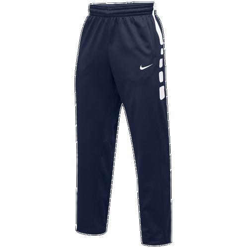 Nike elite shorts blue and white