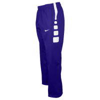 Nike Team Elite Stripe Pants - Men's - Purple / White