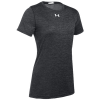 Under Armour Team Locker S/S T-Shirt - Women's - Black / Silver