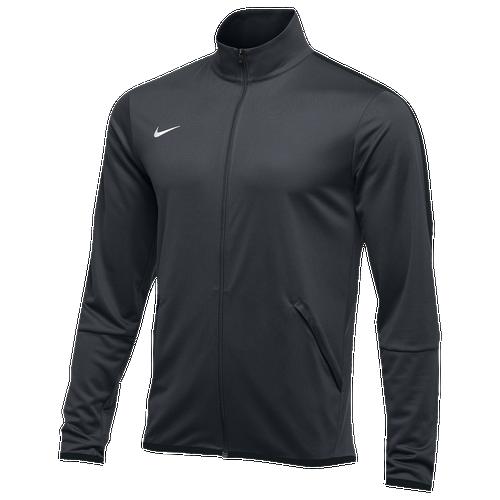 Nike Team Epic Jacket - Men's Baseball - Dark Green/Anthracite/White 35571361