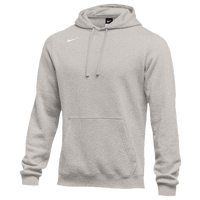 Nike Team Club Fleece Hoodie - Men's - Grey / Grey