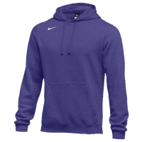 Nike Team Club Fleece Hoodie - Men's - Purple / Purple