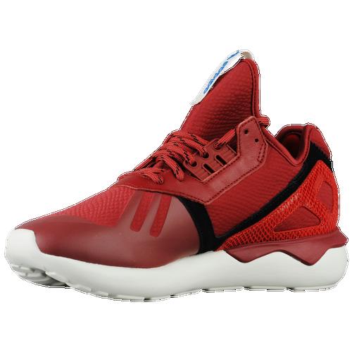 adidas originali tubulare runner uomini scarpe da corsa rosso / rosso