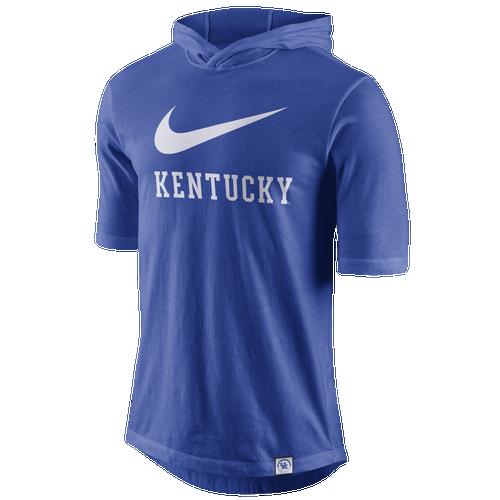 Nike College Statement Hood Basketball T-Shirt - Men's - Clothing - Kentucky  Wildcats - Royal