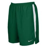 "Nike Team Dry Challenger 7"" Shorts - Men's - Dark Green / White"