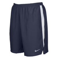 "Nike Team Dry Challenger 7"" Shorts - Men's - Navy / White"