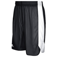 adidas Team Crazy Explosive Reversible Shorts - Men's - Black / White