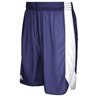 adidas Team Crazy Explosive Reversible Shorts - Men's - Purple / White