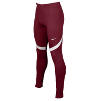 Nike Team Power Stock Race Day Tights - Men's - Cardinal / White