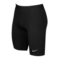 Nike Team Power Stock Race Day Tight Half - Men's - All Black / Black
