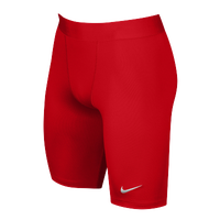 Nike Team Power Stock Race Day Tight Half - Men's - Red / Red