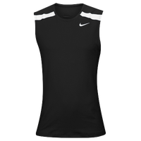 Nike Team Power Stock Race Day Tank - Men's - Black / White
